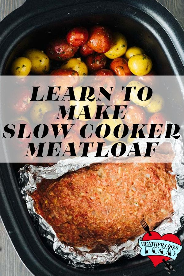 This Slow Cooker Meatloaf Is So Easy To Make And Everyone That Makes It Agrees It Is The Slow Cooker Meatloaf Crockpot Recipes Slow Cooker How To Cook Meatloaf