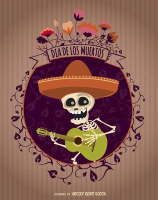 Día de los Muertos Mariachi Mexican