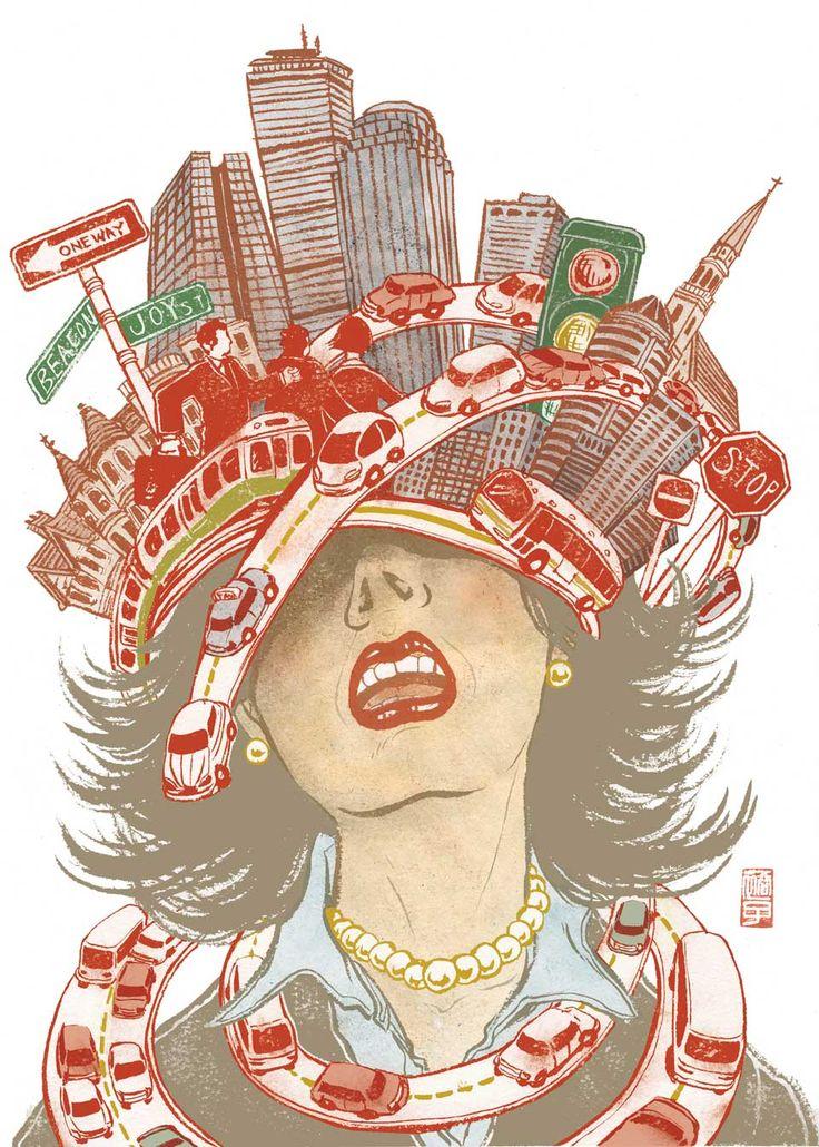 Yuko Shimizu - BOSTON GLOBE Sunday Ideas - Boston Globe Sunday Idea