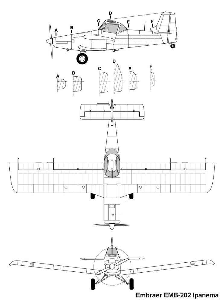 embraer202_ipanema_3v.jpg (1100×1491) (com imagens