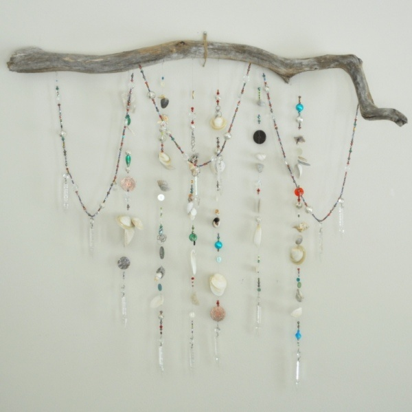 love this idea for flotsam and jetsam from Lake Superior!