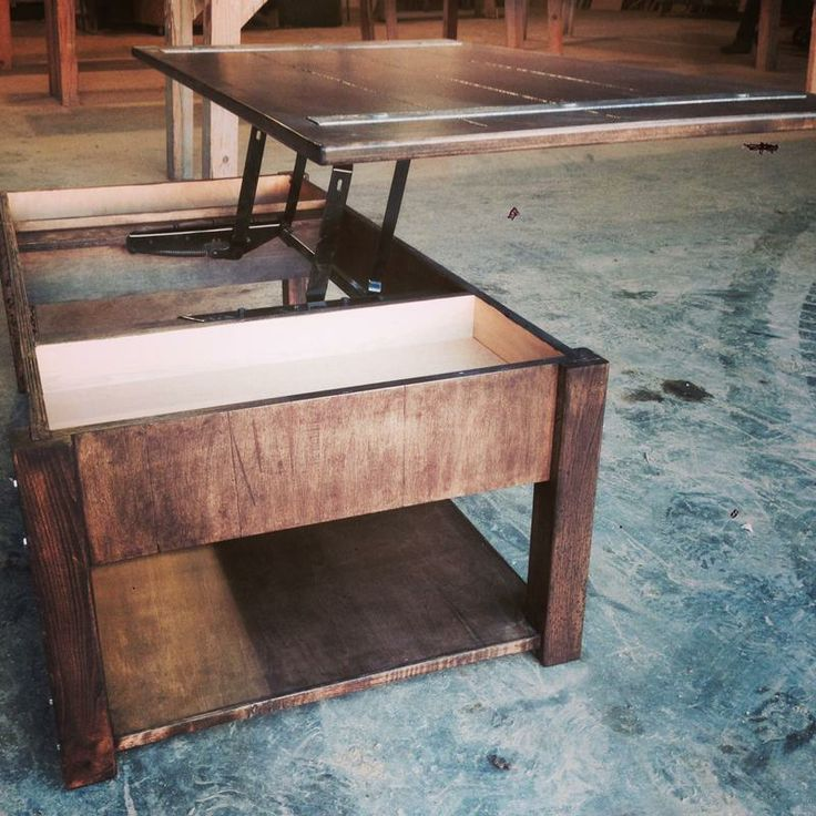 Coffee Table With Lift Up Top From The Rustic Acre In College Station, TX