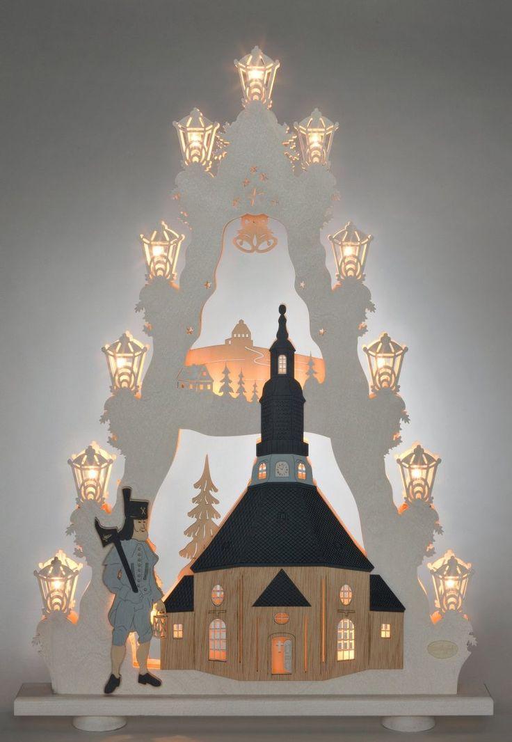 Lichterspitze weiß, »Seiffener Kirche«, FSC®-zertifiziert, WEIGLA® Jetzt bestellen unter: https://moebel.ladendirekt.de/weihnachten/weihnachtsdeko/?uid=e7d6e62d-4984-5f98-bf41-22e0d8638e6c&utm_source=pinterest&utm_medium=pin&utm_campaign=boards #lichterspitze #weihnachten #weihnachtsdeko