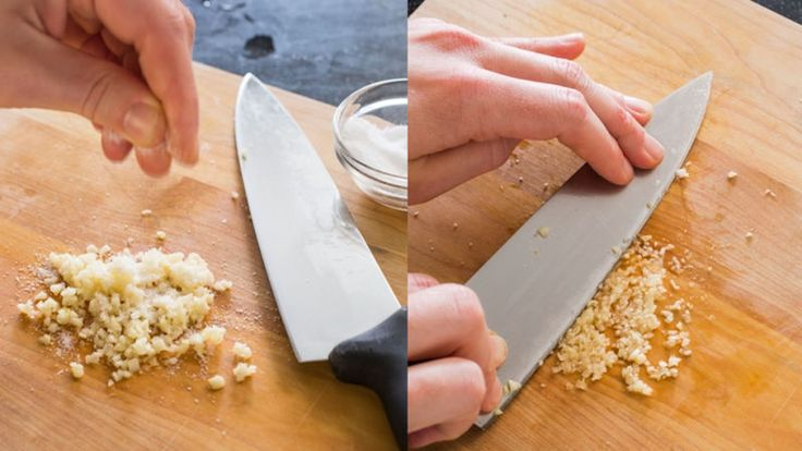 The Easiest Way to Mince Garlic Using Just a Knife
