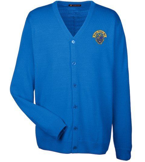 Kappa Kappa Psi Greek Letterman Cardigan Sweater