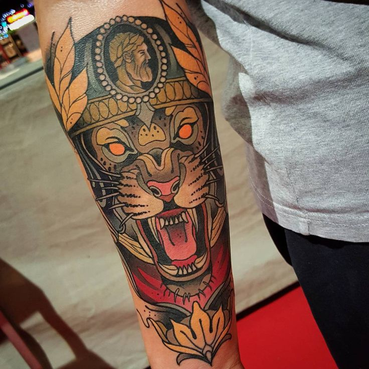 "3,387 Likes, 64 Comments - Toni Donaire Tattoo (@tdonaire) on Instagram: ""Did this jaguar and won the 'Best of Friday' at @brusselstattooconvention  Thanks Camiel. Done with…"""