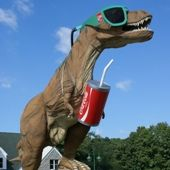 Day Trip: Travel Back In Time at The Dinosaur Place in Oakdale Connecticut