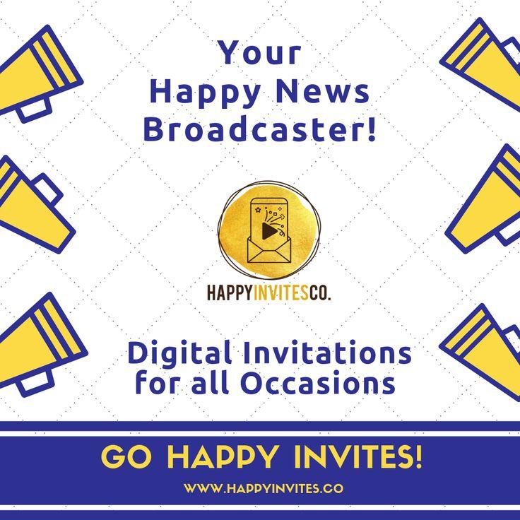 video invitation maker online animated e card  happy