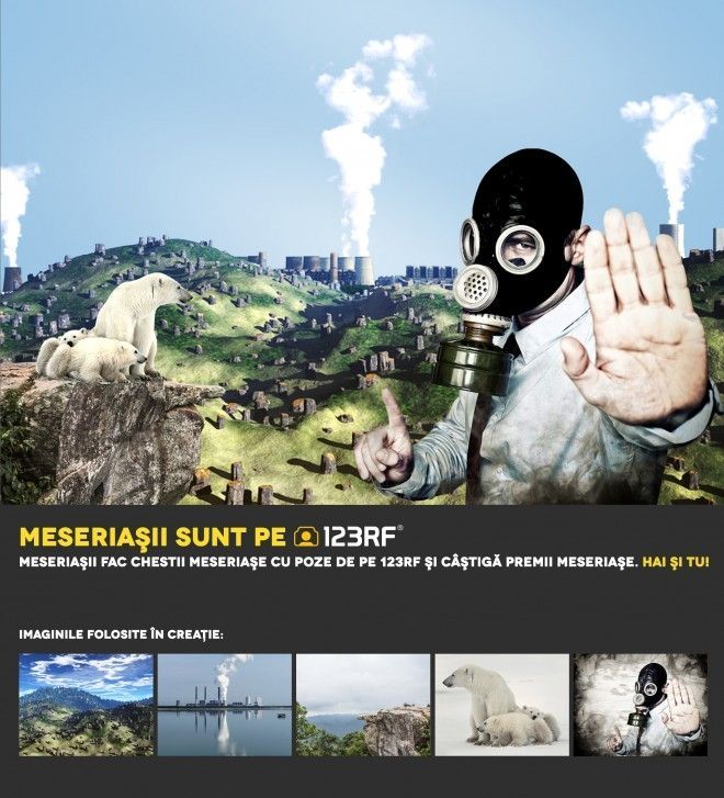 """Stop Deforestation"" by Domitian Tincaba. Meseriasii sunt pe 123RF!"