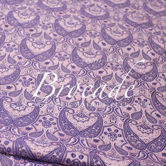 34 best purple images on pinterest dress patterns pattern buy lavender brocade paisley fabric by the yard fandeluxe Gallery