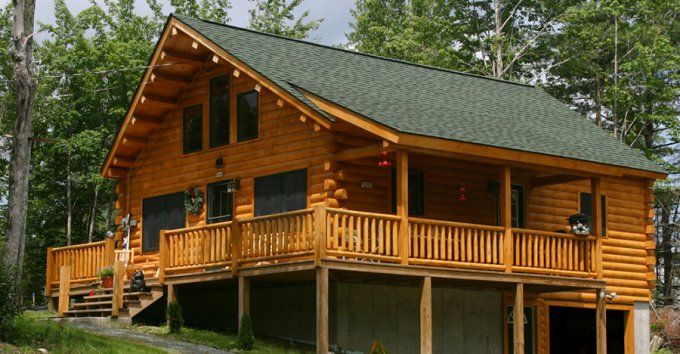 Well Designed Log Home At Affordable Price In 2020 Log Homes House On Stilts House Plans