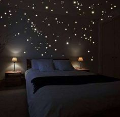 tavanda yıldız teması