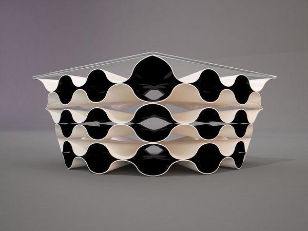Superb Design AFRO (foam) Coffee Table Concept By Svilen Gamolov