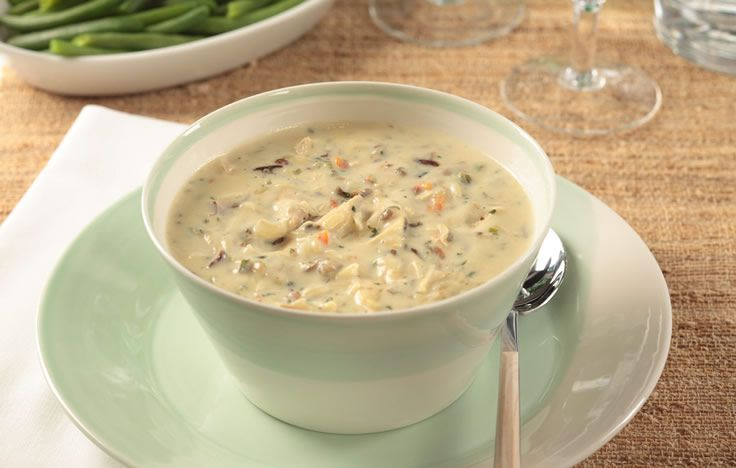Creamy Chicken Wild Rice | Make a hearty soup for the whole family ...