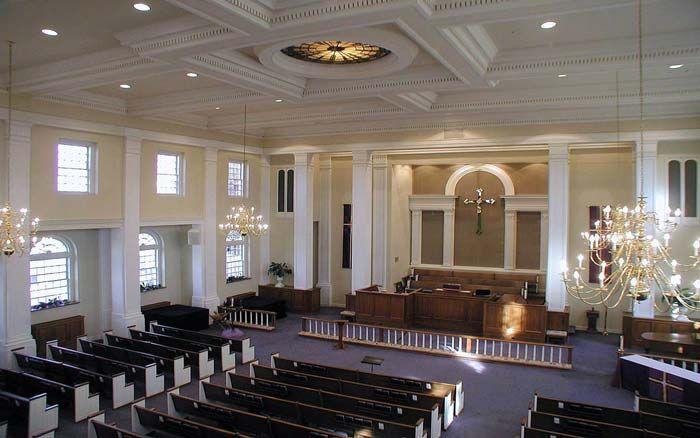 Painting & Plaster Repair for Church Renovations & Restoration