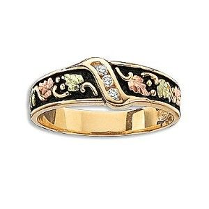 Black Hills Gold® Diamond Accent Band
