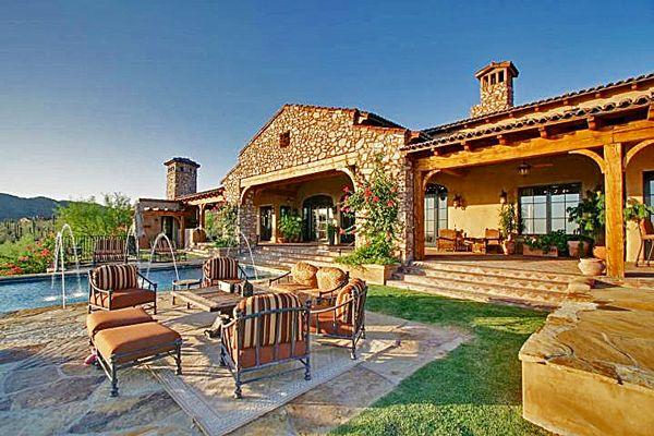 scotsdale arizona   Scottsdale Back Patio Luxury Home