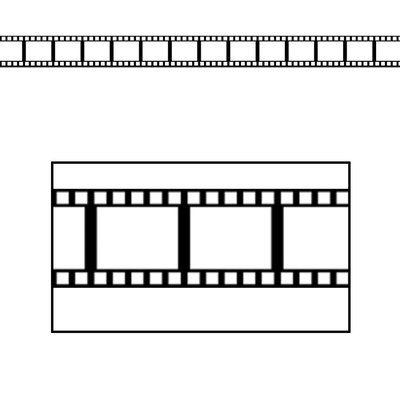 The Holiday Aisle Filmstrip Border Trim Wall Décor (Set of 4)