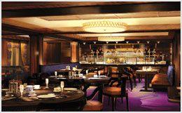 Cagney's Steakhouse on board Norwegian Breakaway.