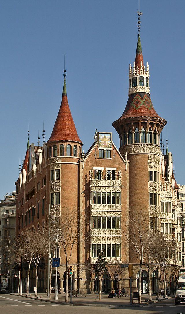 Barcelona Casa de les Punxes -