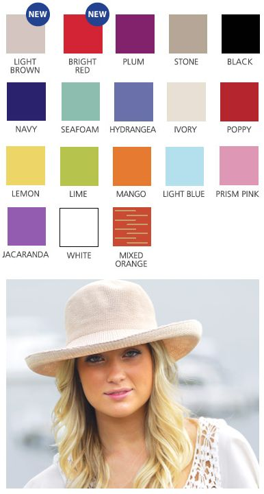 Our top selling #Breton hat is available in 18 colours. It looks good on everyone. Do you agree?  www.sunhats.co.za