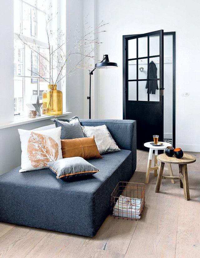 Leen Bakker | 101 Woonideeën | styling | koper zwart grijs wit winter