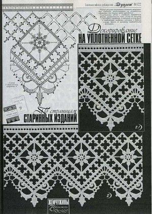Beautiful Häkelborte Spitze häkeln -  crochet border