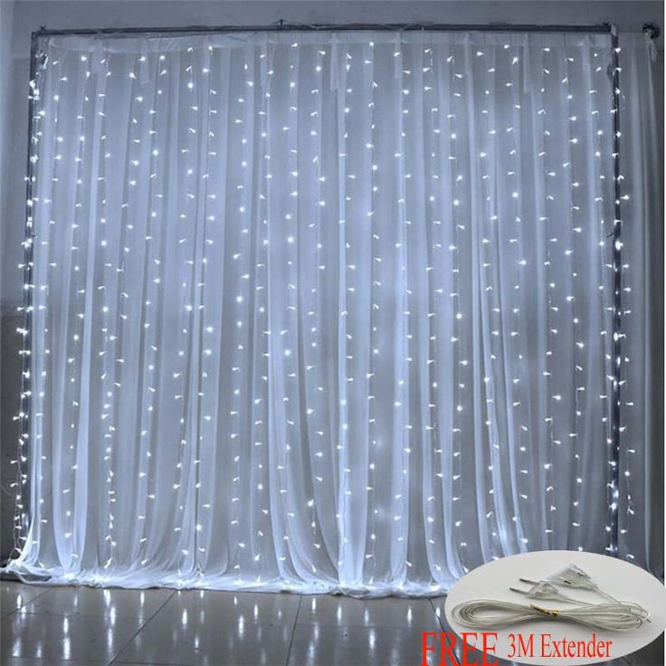 6M x 3M 600 LED Home Outdoor Holiday Christmas Decorative Wedding xmas String Fairy Curtain Garlands Strip Party Lights pool DIY <3 AliExpress Affiliate's Pin.  View the item in details now by clicking the VISIT button