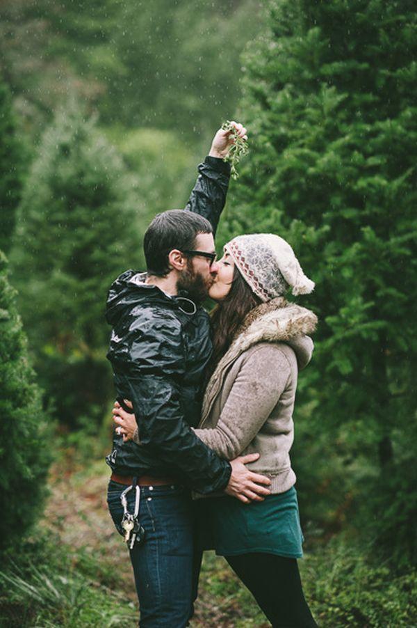 Christmas tree farm proposal // Michael James Photo Studio