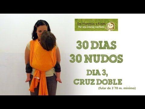 Día 3.- Cruz doble #30dias30nudos   De Monitos y Risas