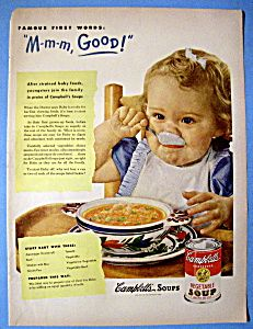 campbell's soup 1950s