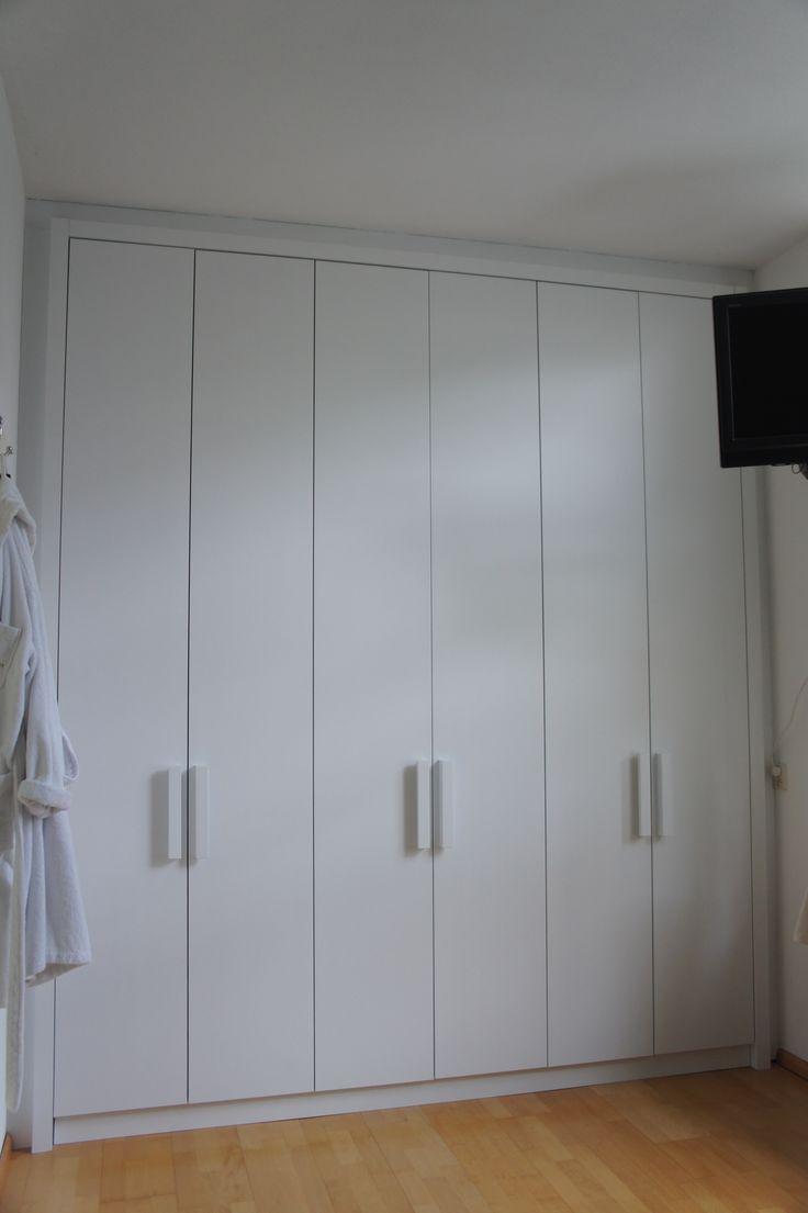 25 beste idee n over witte kledingkast op pinterest for Kledingkast karwei