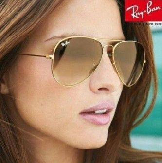 óculos de sol aviador feminino ray ban