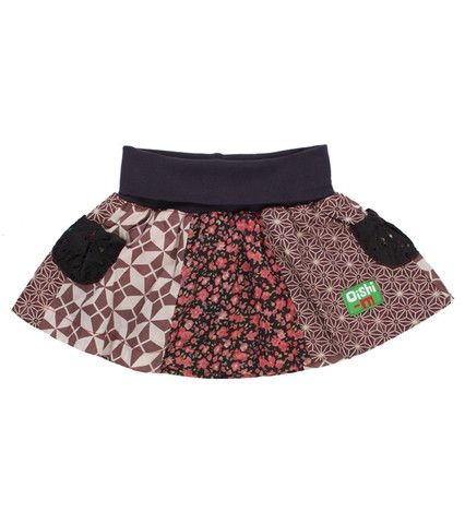 Oishi-m Purdy Skirt  6-15mo
