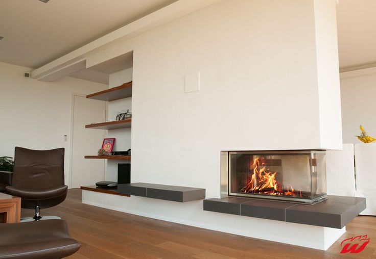 1000 images about fireplace in the living room on pinterest contemporary fireplaces modern. Black Bedroom Furniture Sets. Home Design Ideas