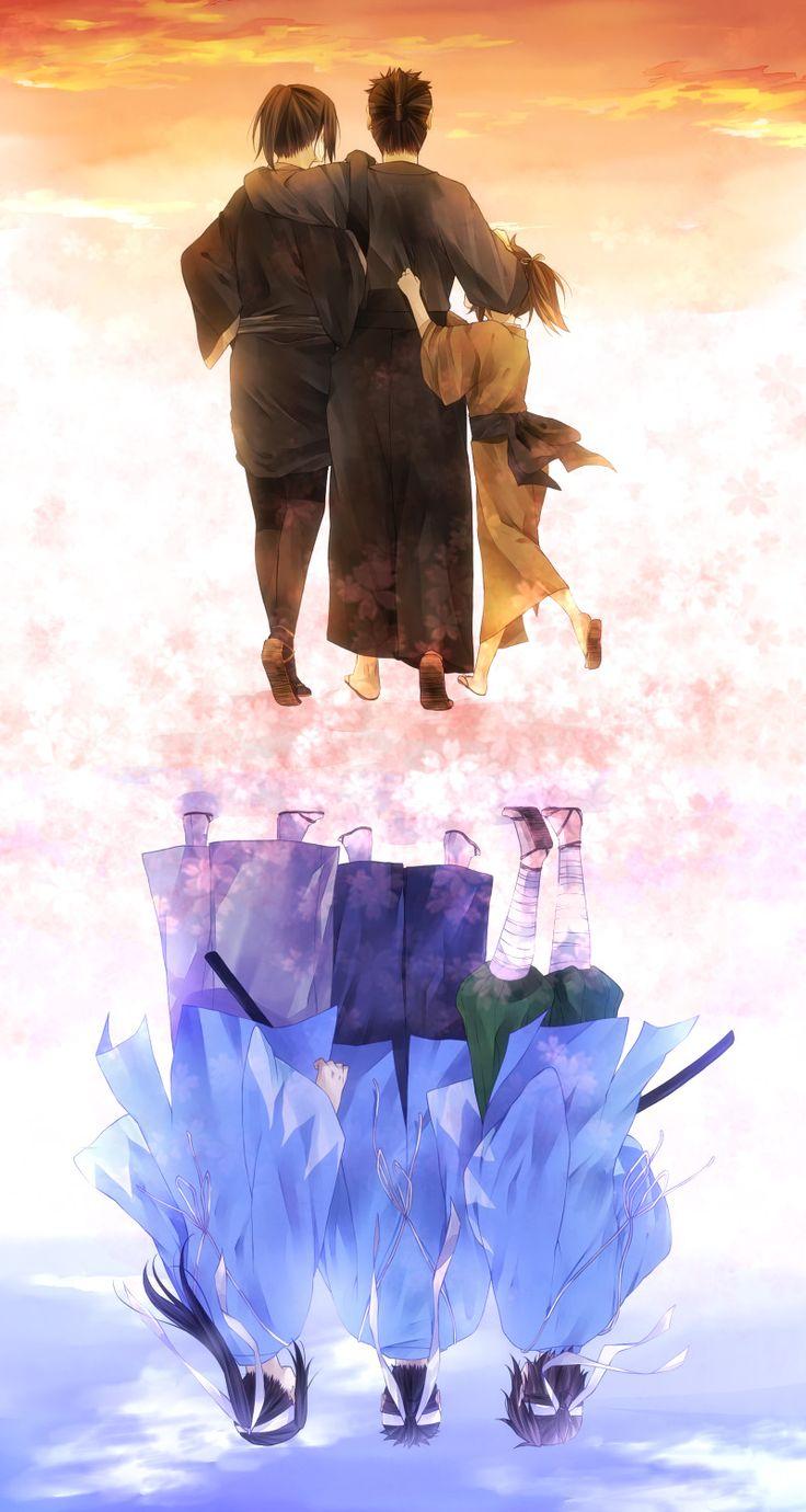 Hakuouki Shinsengumi Kitan, Hijikata Toshizou (Hakuouki), Okita Souji (Hakuouki), Kondou Isami (Hakuouki)