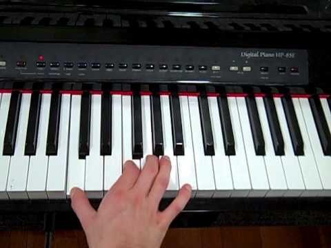 Eiffel 65 I'm Blue Piano Tutorial - YouTube