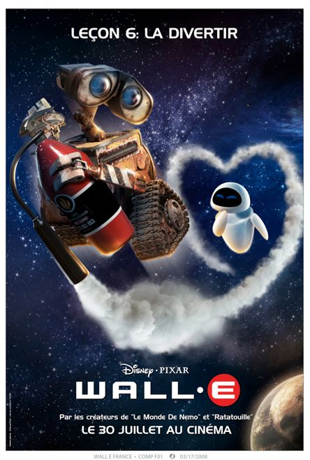 Wall-e French Poster - Disney-Pixar | Disney | Wall e ...