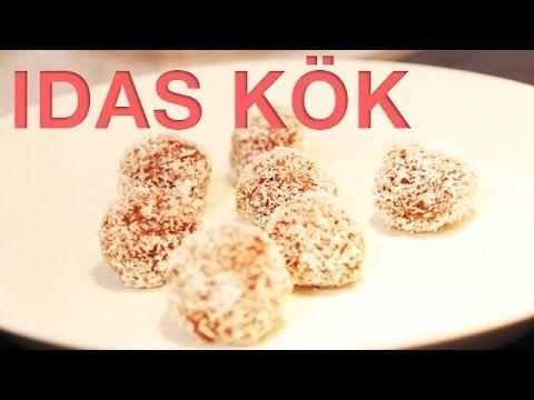 IDAS KÖK - Nyttiga chokladbollar glutenfria (Eng sub)