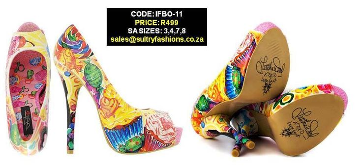 IFBO-11 Sweets For My Sweet Peep Toe Platforms   PRICE: R499.00  SIZES: 3,4,7,8 sales@sultryfashions.co.za
