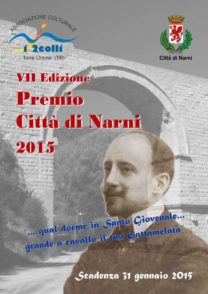 """Scadenza 31.1.2015 – 7° Edizione del Concorso di Poesia Nazionale """"Premio Città di Narni 2015″"""