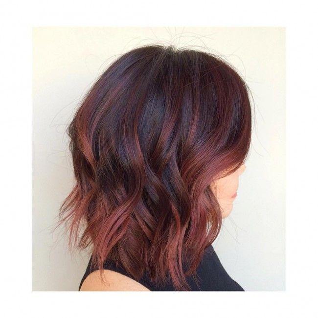 mahogany hair colors