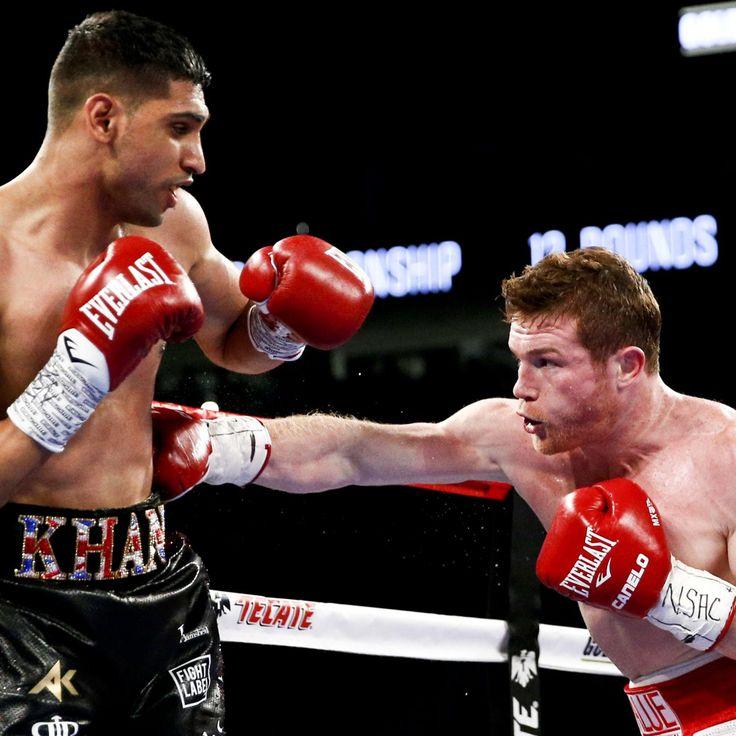 Canelo vs. Khan Results: Winner, Recap, Prize-Money Split and Knockout Reaction | Bleacher Report