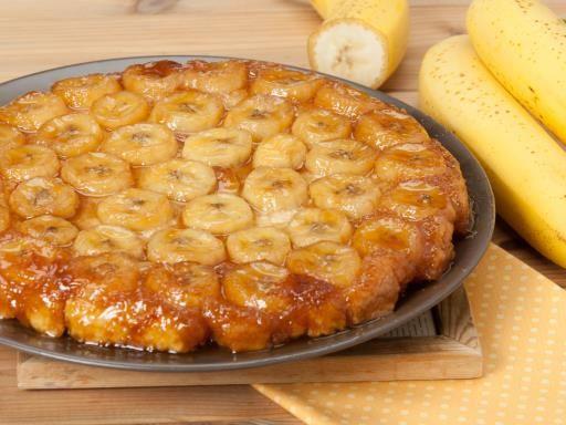 Tarte tatin banane toffee : Recette de Tarte tatin banane toffee - Marmiton