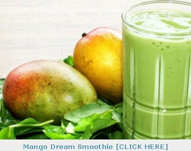 MANGO SPINACH DREAM SMOOTHIE | Smoothie Recipes | Fruit Smoothies Recipe |
