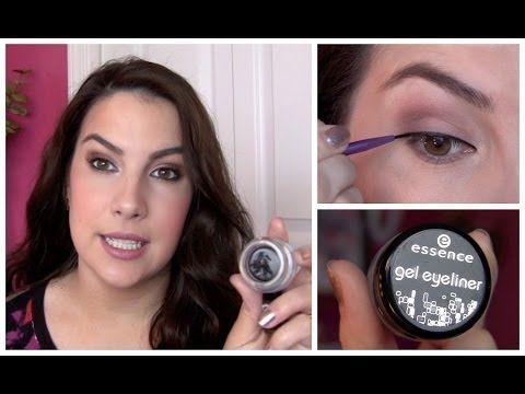 ▶ Essence Gel Eyeliner Review - YouTube