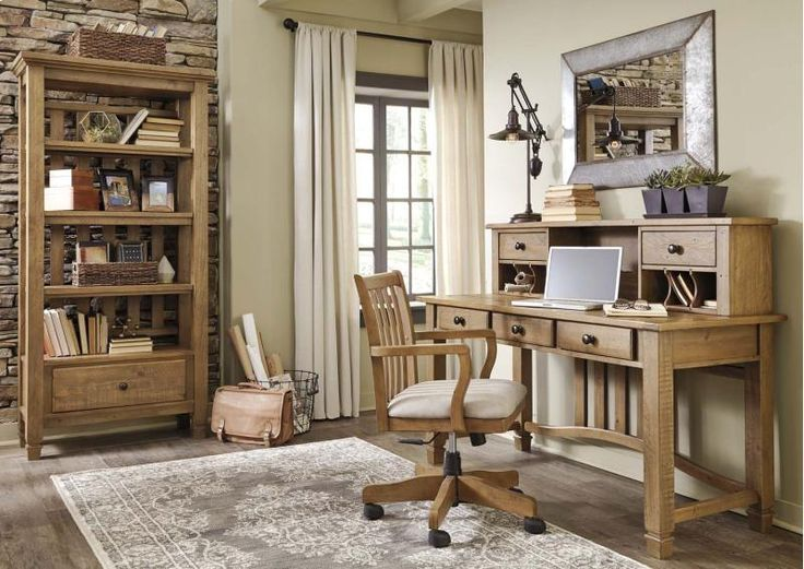 Best Brown Home Office Furniture Ideas Only On Pinterest