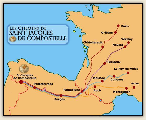 Start in Paris - Google Image Result for http://www.chemins-de-compostelle.fr/img/chemin-de-compostelle.jpg