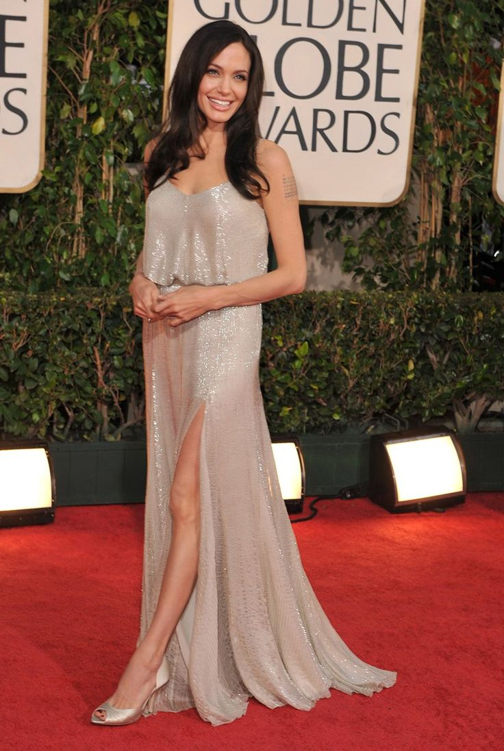 Angelina Jolie in Versace, 2009