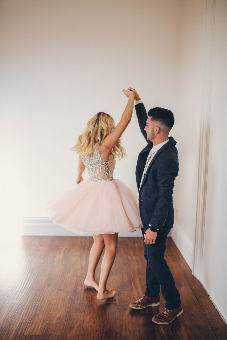 The perfect couple Fairytale Homecoming dates the perfect pair boyfriend girlfriend pictures to take couple goals Ypsilon Dresses Blush pink dress